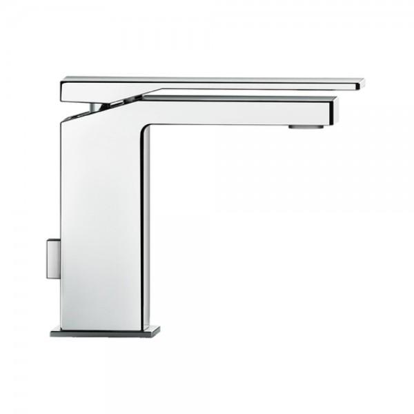 Miscelatore monocomando lavabo Fir playone90 italia  interasse 13 cm con scarico