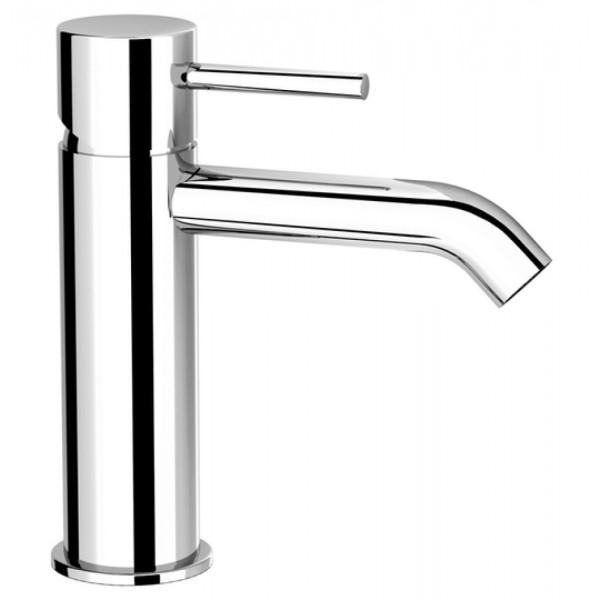 Miscelatore mocomando lavabo fir italia cleo mini 84 altezza 14,5 cm senza scarico