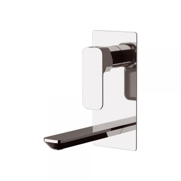 Miscelatore incasso per lavabo con piastra verticale serie Tiara Daniel