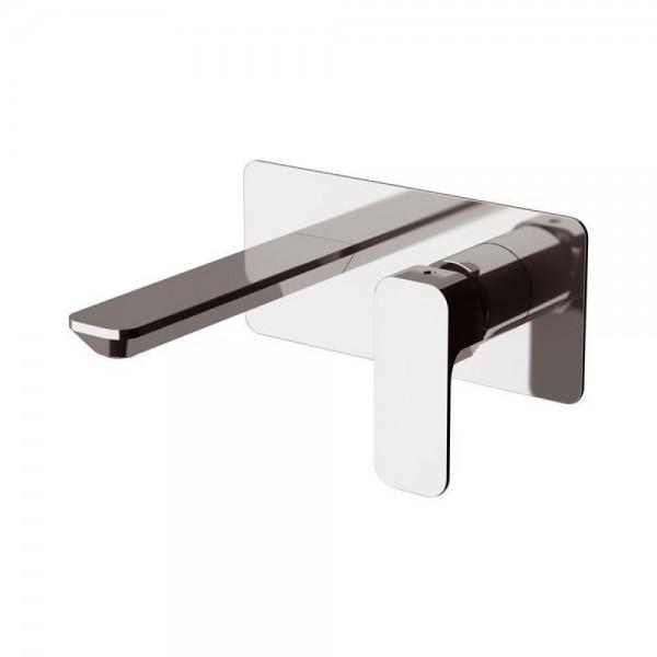 Miscelatore incasso per lavabo con piastra rettangolare serie Tiara Daniel