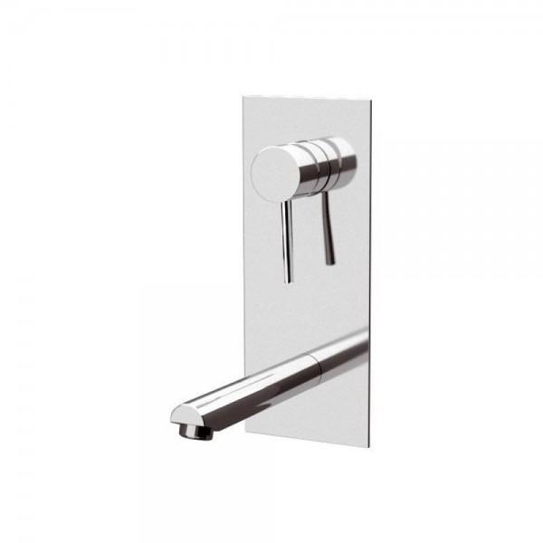Miscelatore a incasso per lavabo con piastra verticale Suvi Daniel