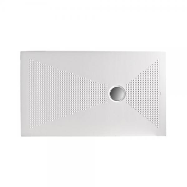 Piatto doccia in ceramica kerasan nolita 80X100 H3cm