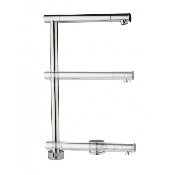 Monocomando lavello con altezza regolabile Lift Crolla