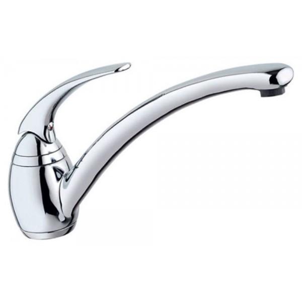 Monocomando per lavello con bocca girevole 360° Emilie Crolla