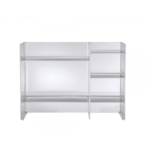 Colonna sound rack trasparente 750x260x530