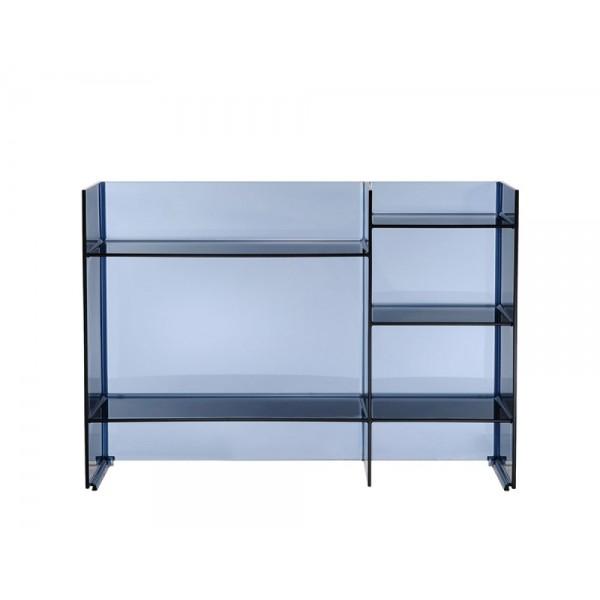 Colonna sound rack blu tramonto 750x260x530