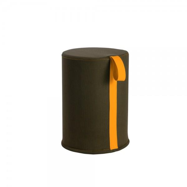 Seduta verde oliva maniglia arancio polifunzionale Ever rool