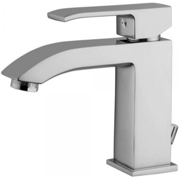 Miscelatore monocomando lavabo Paffoni level con scarico clic-clac
