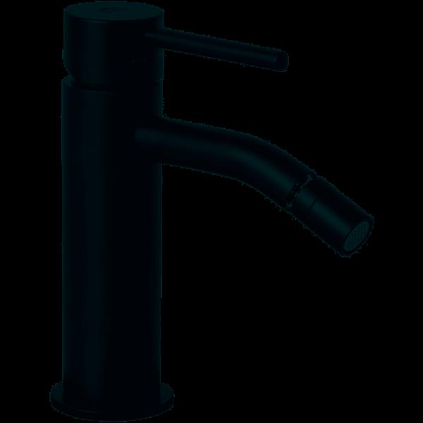 Miscelatore monocomando bidet Paffoni light nero opaco senza scarico
