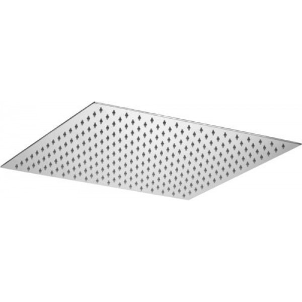 Soffione doccia quadrato in metallo 400x400 mm paffoni original