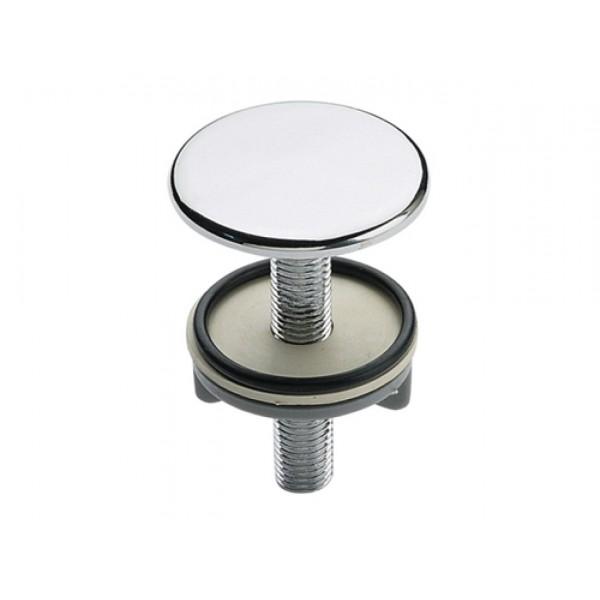 Copriforo per lavabo/bidet diametro 50mm in ottone cromato