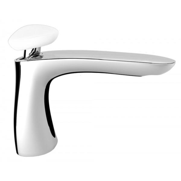 Miscelatore monocomando lavabo Synergy stone 95 Fir interasse 13.5 cm senza scarico