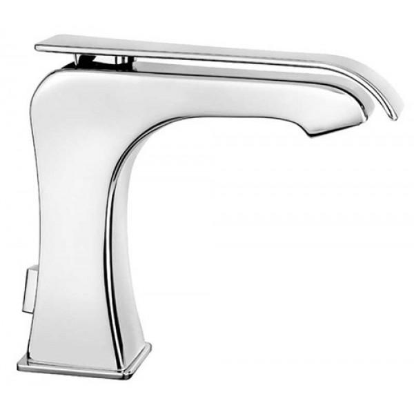 Miscelatore monocomando lavabo Dèco 87 Fir interasse 13.5 cm con scarico