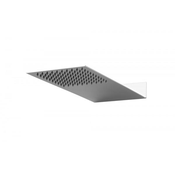 Soffione doccia in acciaio inox 430x200mm Ares blade