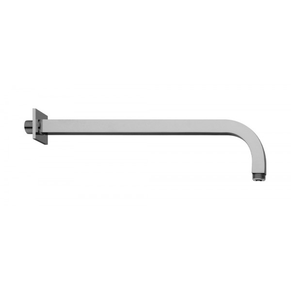 braccio doccia quadrato 22x22mm techno