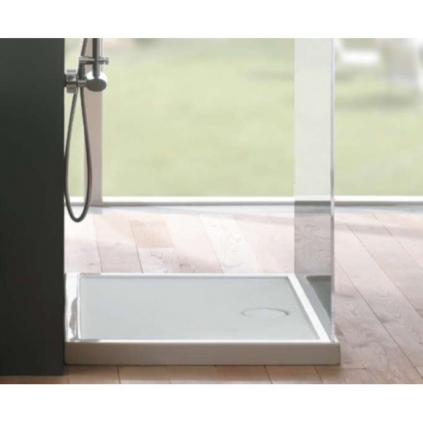 Piatto doccia in ceramica Globo docciabella 80X100 H6,5cm