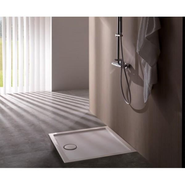 Piatto doccia in ceramica Globo docciabella 90X90 H6,5cm
