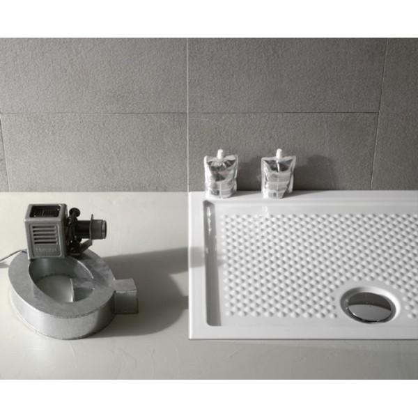 Piatto doccia in ceramica Globo docciaviva 70X120 H6,5cm