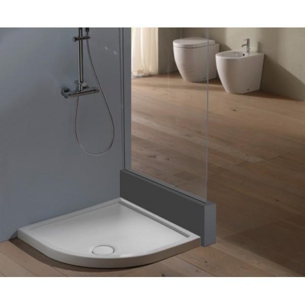 Piatto doccia in ceramica globo docciabella 90X90 curvo H6,5cm