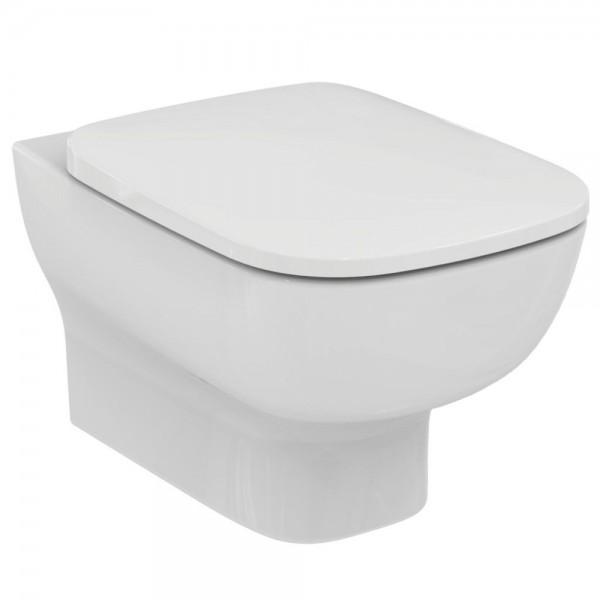 Vaso sospeso idealstandard esedra completo di sedile slim tradizionale