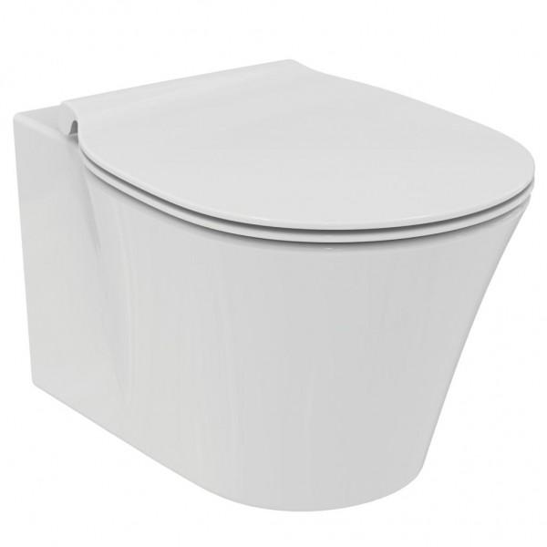 Vaso sospeso acquablade idealstandard connect air completo di sedile slim rallentato