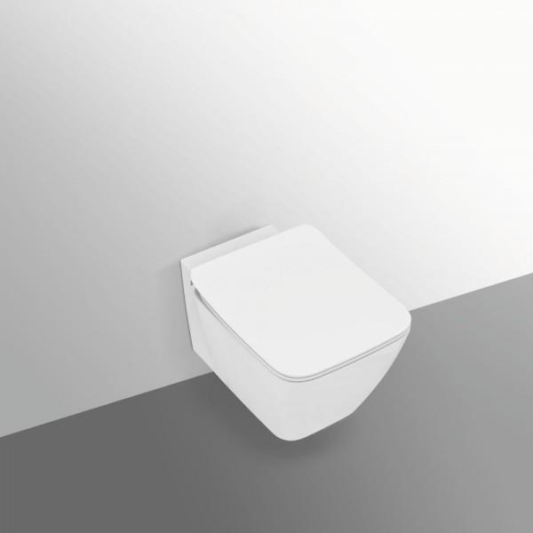 Vaso sospeso acquablade idealstandard strada 2 completo di sedile slim rallentato