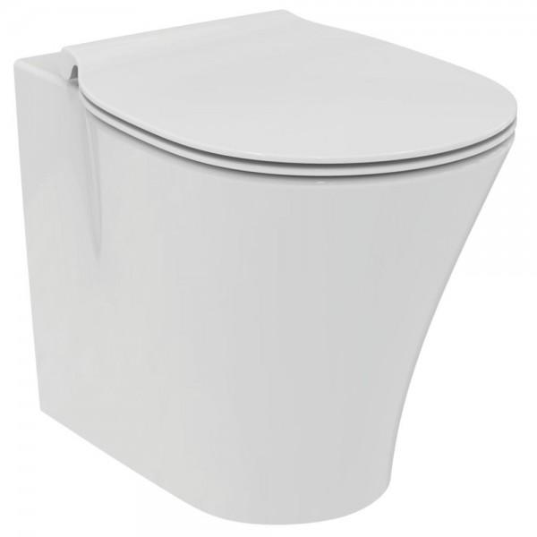 Vaso a terra acquablade idealstandard connect air completo di sedile slim tradizionale
