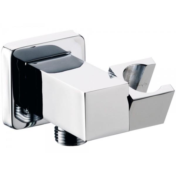 Presa acqua con supporto snodato lusso quadrato Remer