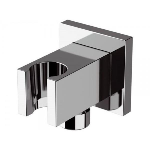 Presa acqua con supporto fisso lusso quadrato Remer