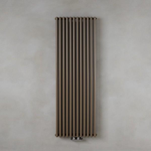 Radiatore in acciaio con tubi verticali diametro 25mm Caleido zigolo