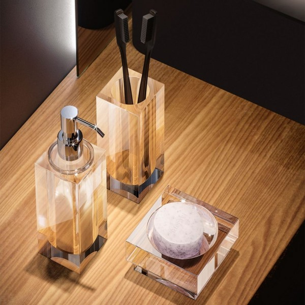 Dosatore sapone liquido a parete tlbath vanity da appoggio