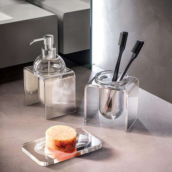 Dosatore sapone liquido da appoggio tlbath joly/simple