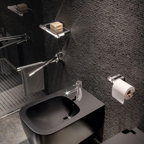 Portasalviette doppio orientabile a parete L.367mm tlbath vanity
