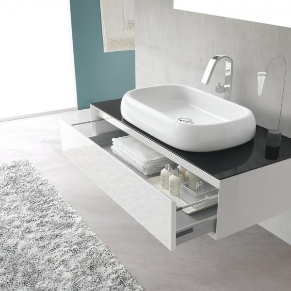 Mobile bagno sospeso L.109 cm Arcom comp.1